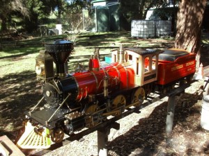 "7.25"" Phantom Live Steam Loco"